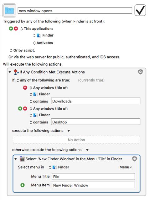 new folder macro