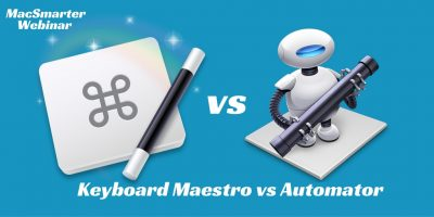 Keyboard Maestro and Automator