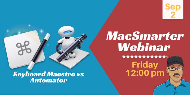 MacSmarter webinar
